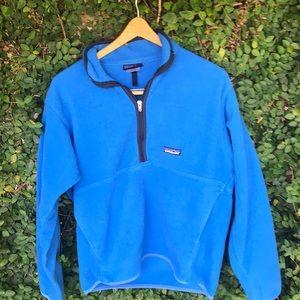 Blue Patagonia fleece medium!